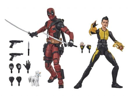 Hasbro Marvel Legends Deadpool & Negasonic Teenage Warhead Action Figure 2-Pack